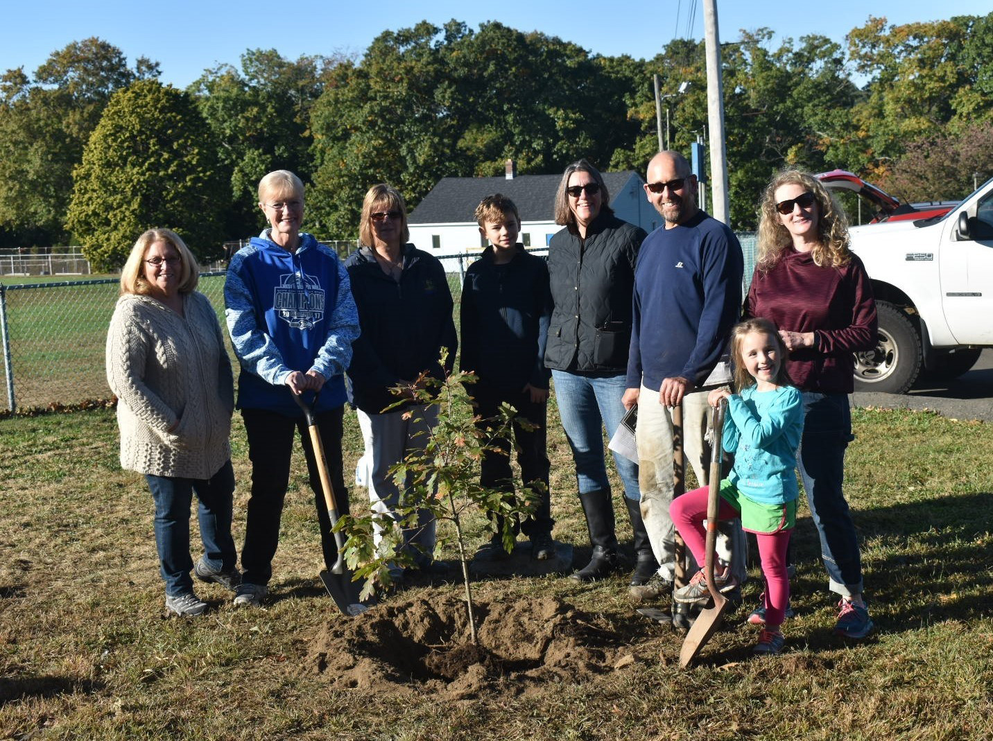 Tree-planting marks statute's 100th