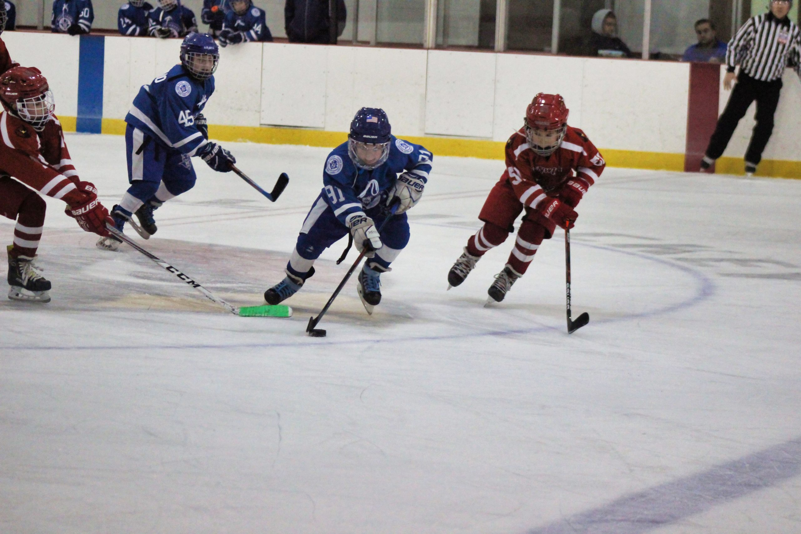 Mite C team loses to Wallingford