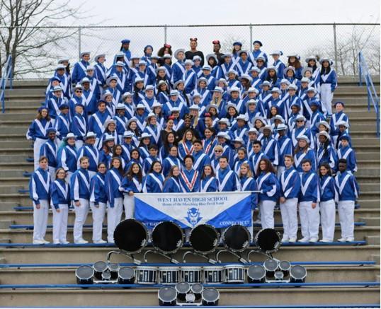 WHHS Blue Devils Band preps for Winter Concert