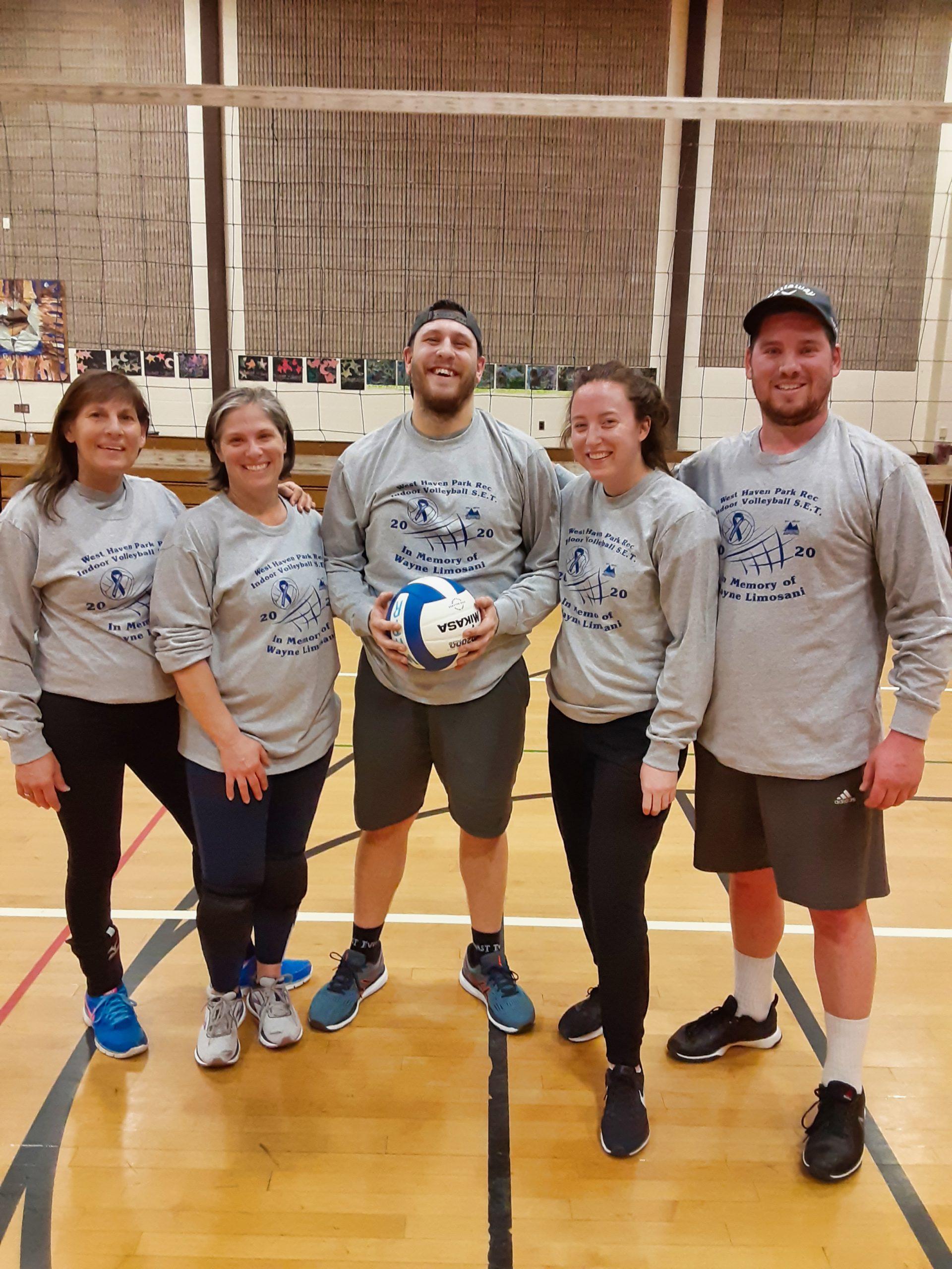 Volleyball tourney raises $975