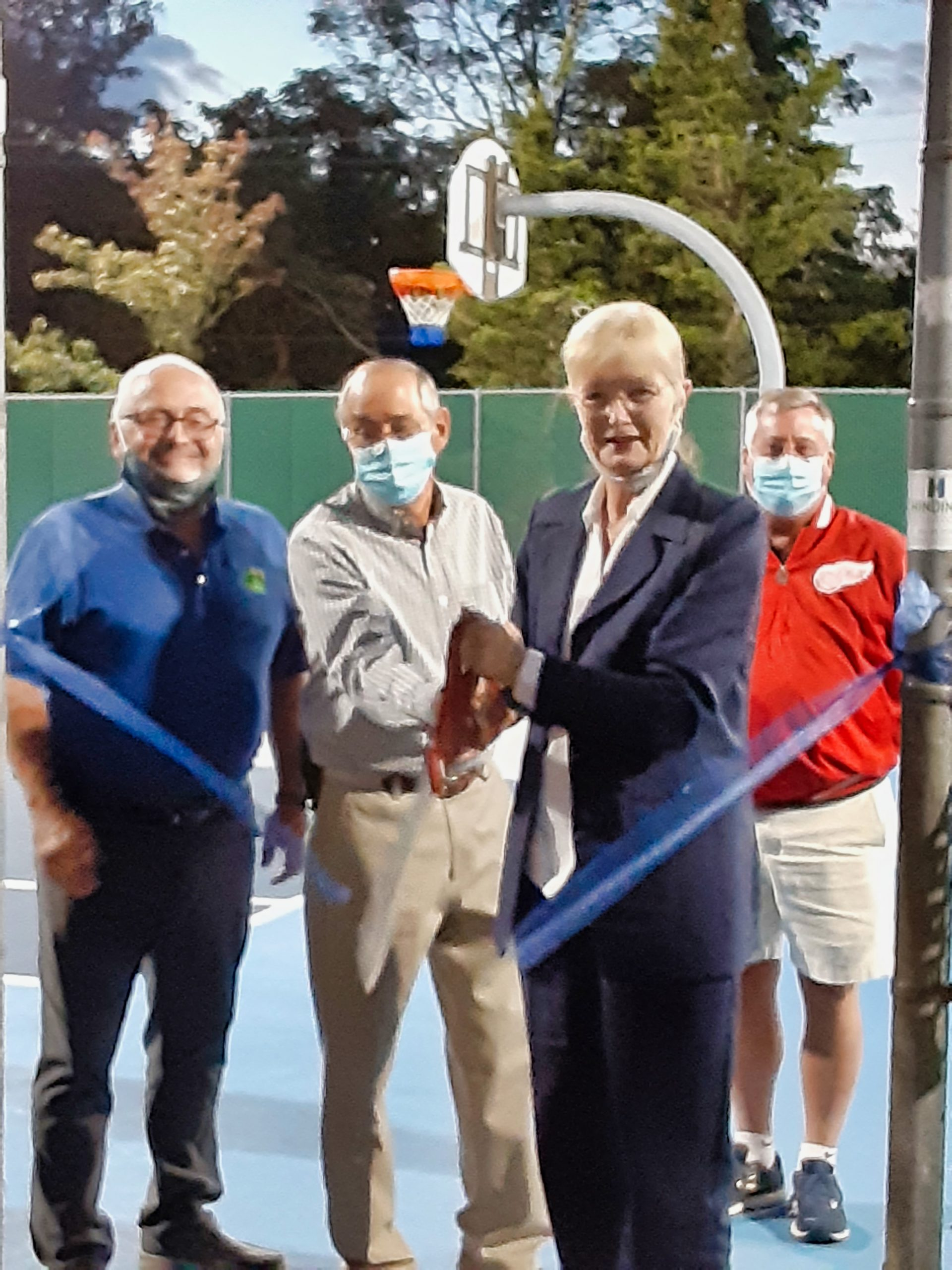Refurbished courts reopen in Veterans Park
