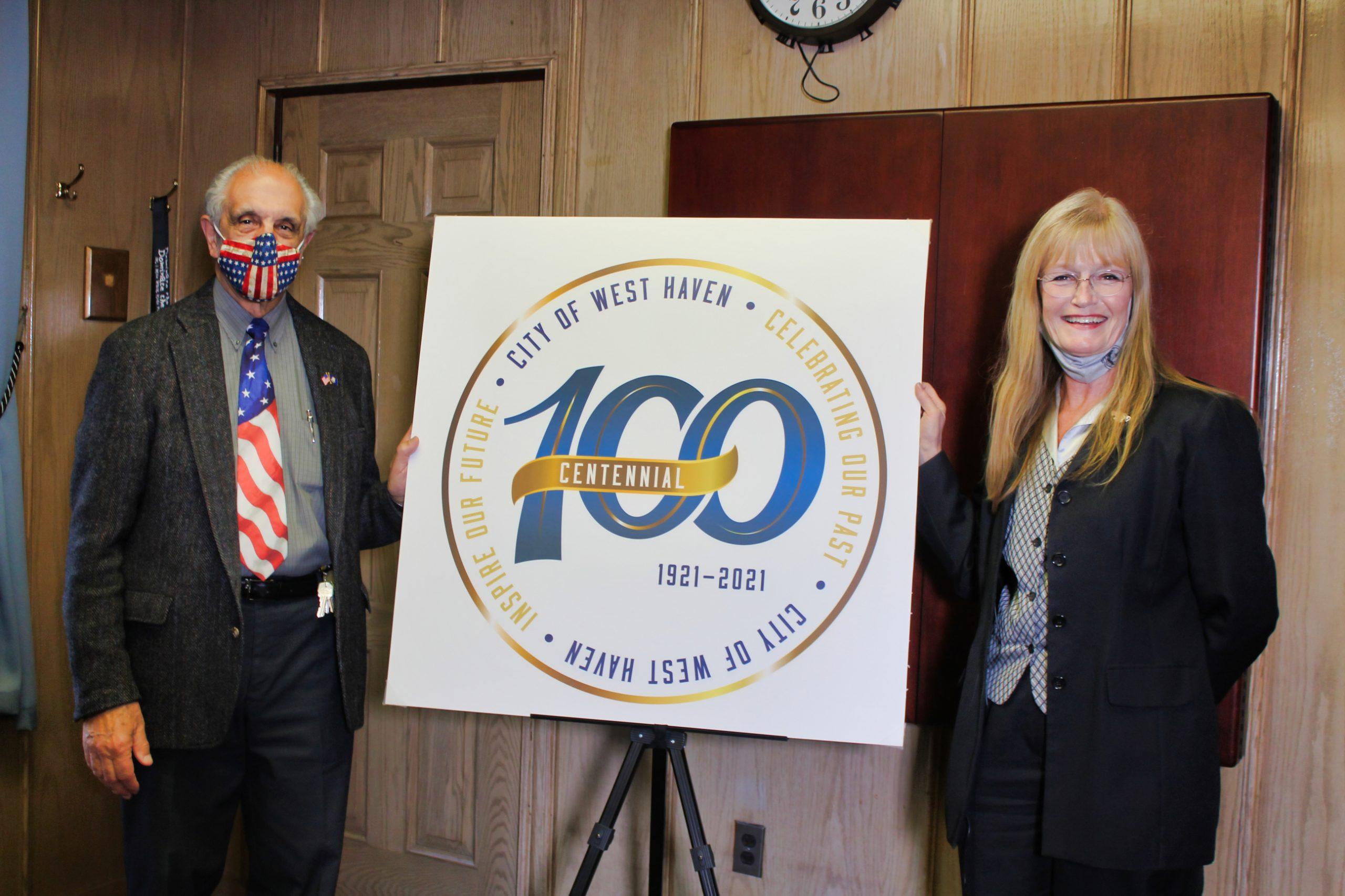 City unveils Centennial Logo