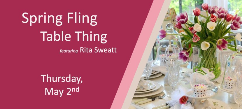 Spring Fling Table Thing 2019