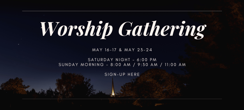 Worship Gathering Sign-up