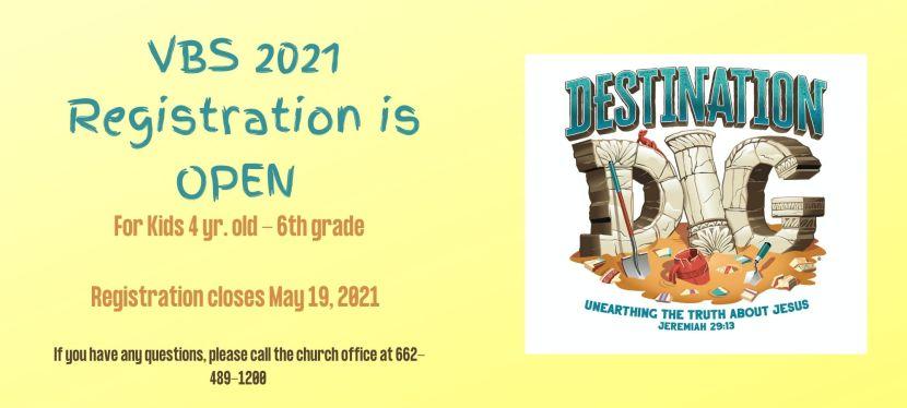VBS 2021- Destination Dig