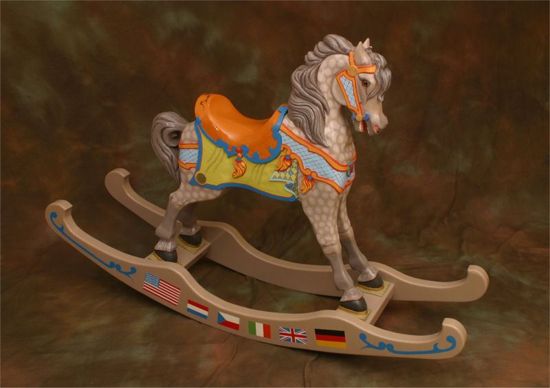 DIY How To Paint A Rocking Horse Wooden PDF wood carving