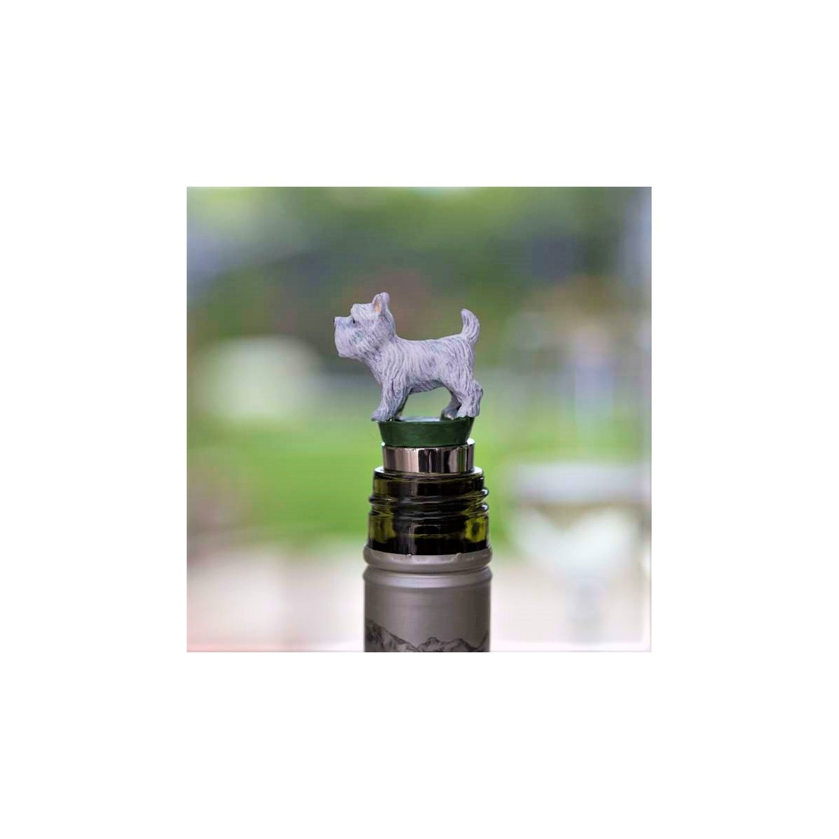 West Highland Terrier Wine Bottle Stopper Gifts For