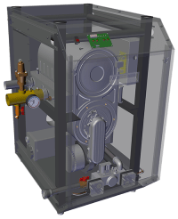 Westinghouse Commercial Gas Fired Boiler