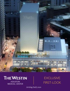 The Westin Houston Medical Center ebrochure sales