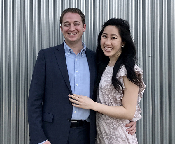 Christina Ma Hunter Ray Westin Wedding Contest Vote