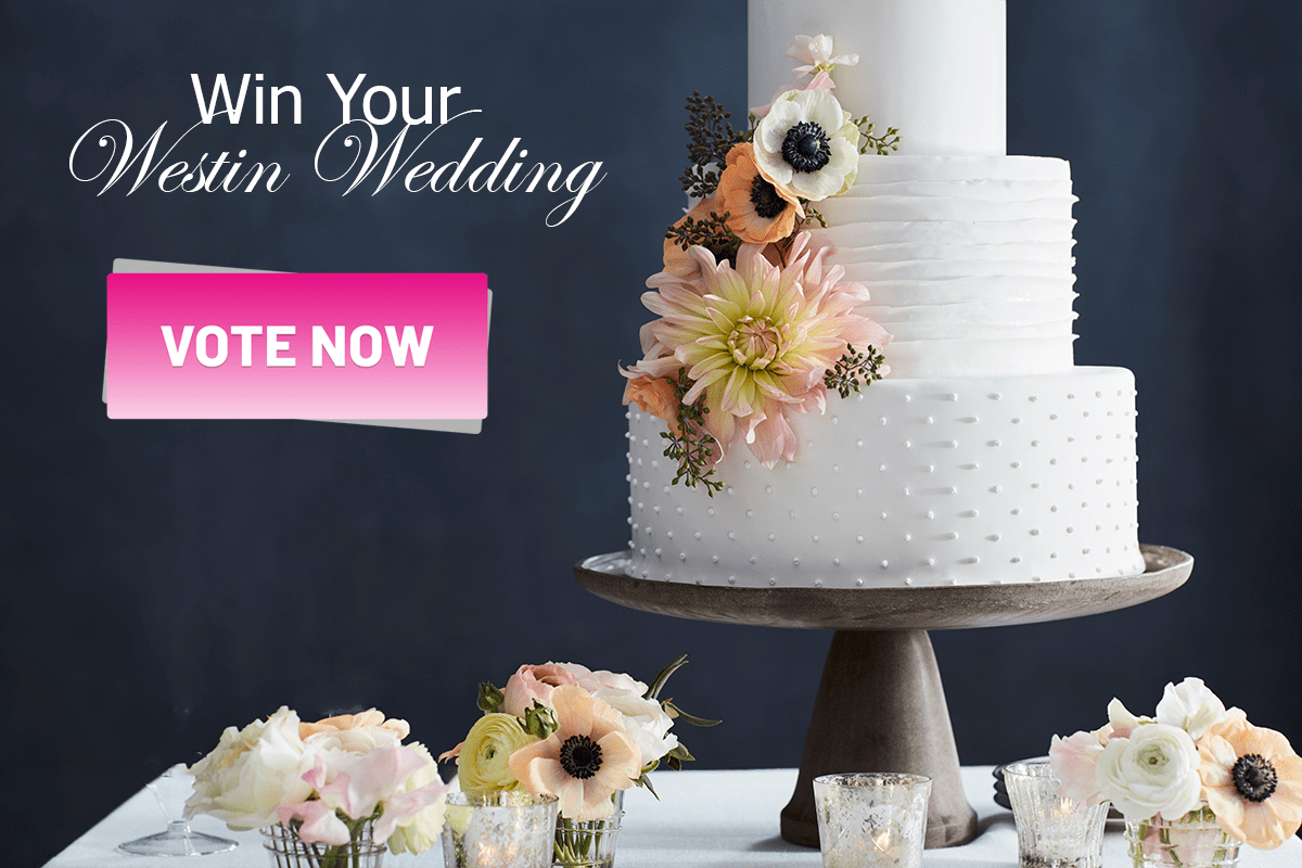 Official Vote for Win Your Westin Houston Wedding Contest