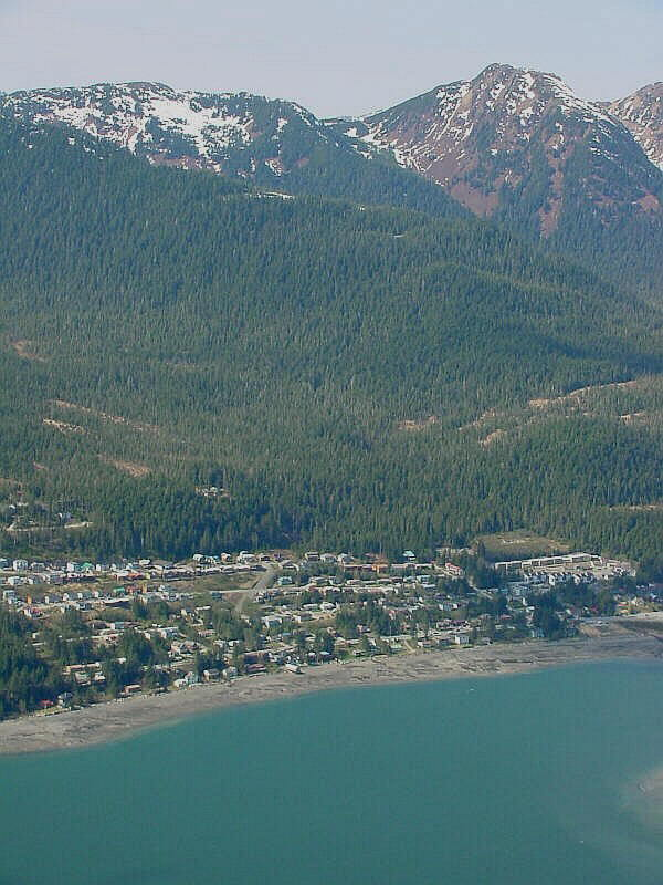 Pictures of West Juneau and Juneau Alaska