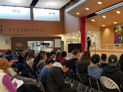 Grade 9 student Alyssa Pineda talks about LGBTQ+ history in Canada and the world