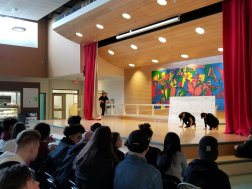 """Students perform a lyrical dance to the tune of """"Fear"""" by Sleeping At Last"""