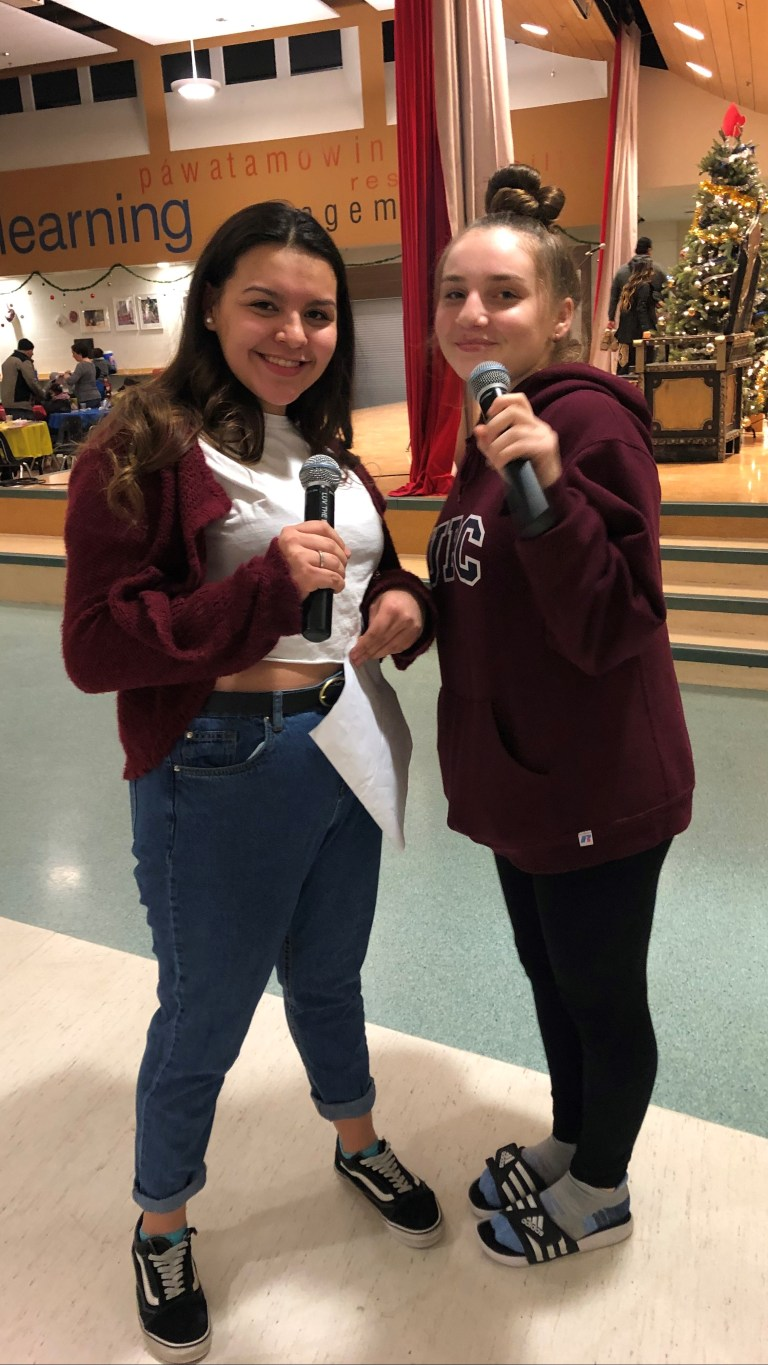 Chloe and Vered, EMCEES