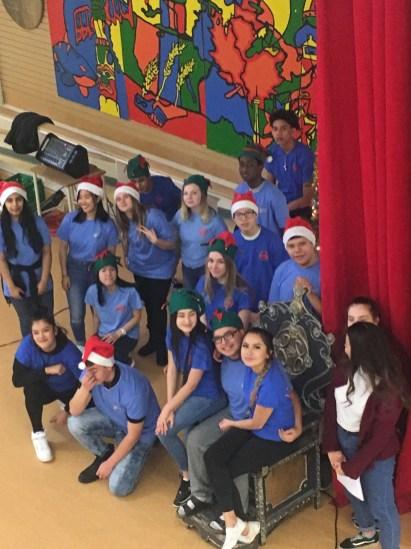 Cultural Credit and Civic Leadership student volunteers