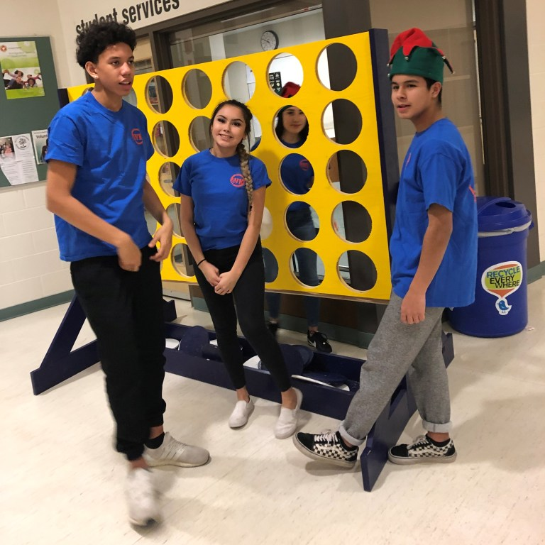 volunteers and big games