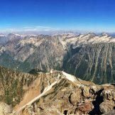 Panorama looking north