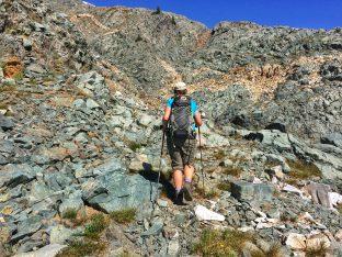 Ascending to Mt Brennan
