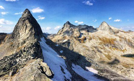Nifleheim Peak, part of the Mulvey Group