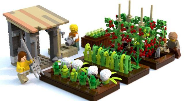 Treffen zur Gartengestaltung