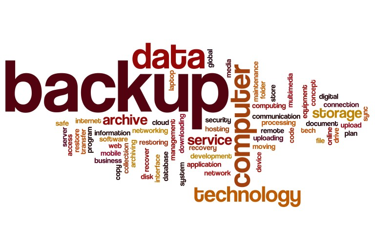 Important Data backup image