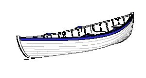 Looking for lines drawings for coastal rowing boat