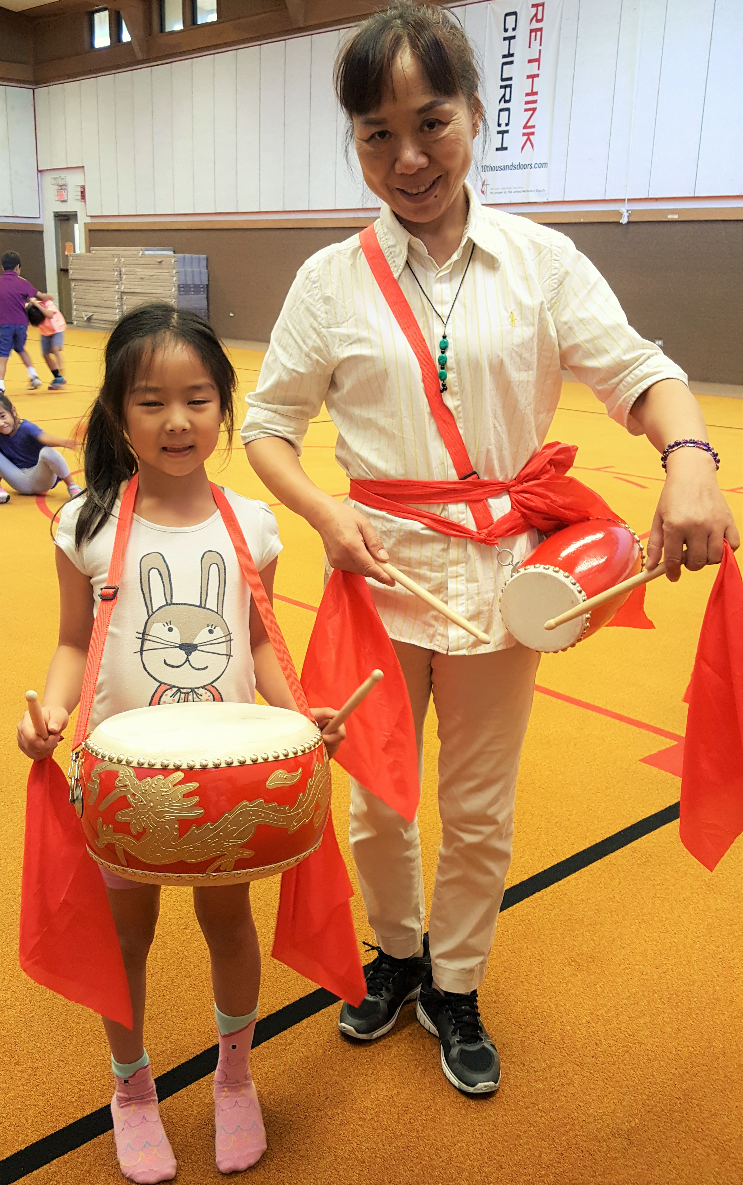 Play Drum Chinese Summer Camp