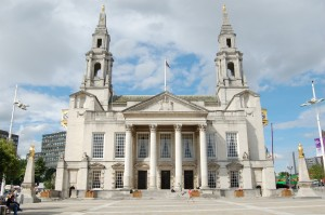 The schools debating contest was held at Leeds Civic Hall
