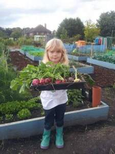 Learning to grow your own dhould dtart when children are young, says IE Kirkstall's Paul Long