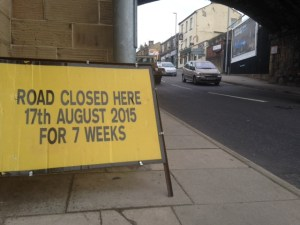 Richardshaw Lane closure pudsey