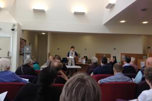 Armley Town Street public meeting Rachel Reeves MP