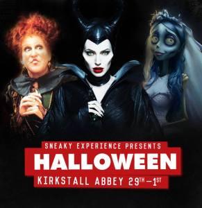 sneaky experience kirkstall Abbey halloween