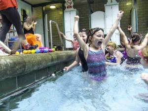 Bramley Baths Easter egg hunt