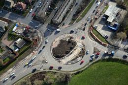 Rodley roundabout