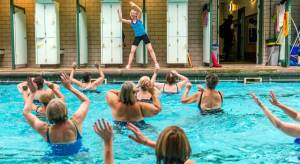 Bramley Baths aqua zumba