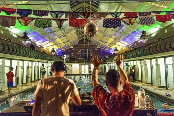 Bramley Baths underwater disco