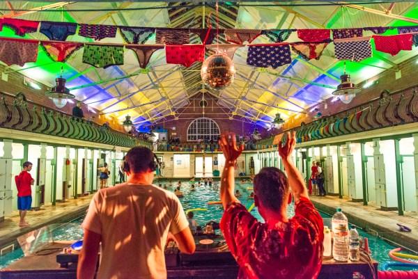 Bramley Baths underwater disco