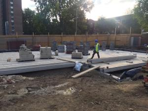new wortley community centre building work
