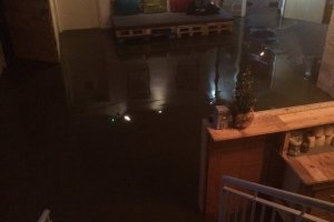 Blueberry Hill Studios Kirkstall flooded