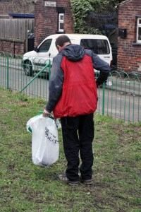 armley common rights trust litter pick