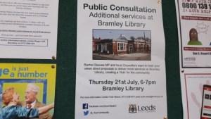 bramley library hub consultation