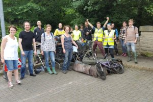 River Aire clean up