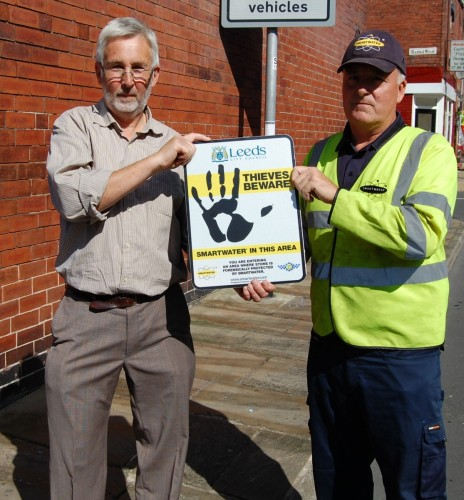 smartwater yorkshire stone paving thefts