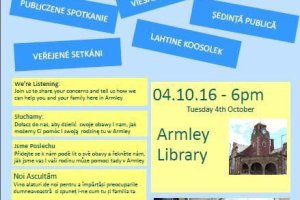 Armley polish public meeting