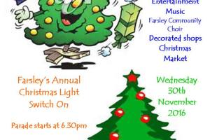 Farsley Christmas Lights 2016