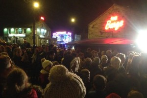 Rodley Christmas lights