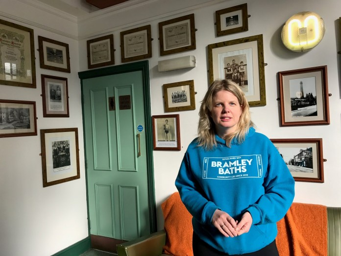 Bramley Baths 'in good health' as chief exec moves on