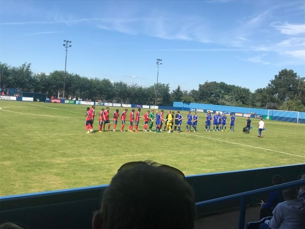 Farsley celtic york city pre-season friendly