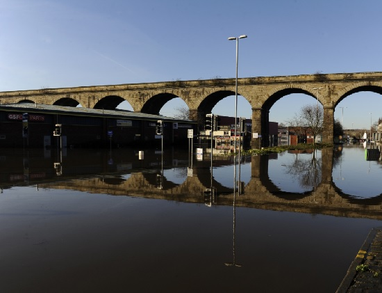 kirkstall road viaduct flood